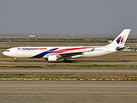 pvg/low/9M-MTL - A330-323 Malaysia Airlines - PVG 03-04-2018.jpg